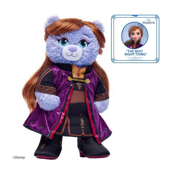 Disney Frozen 2 Anna Inspired Bear Travel Gift Set with Sound, , hi-res