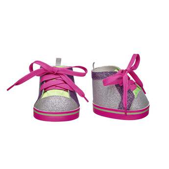 Complete your furry friend's look with these fancy High-Top Shoes! Shop the complete Honey Girls line at Build-A-Bear Workshop.