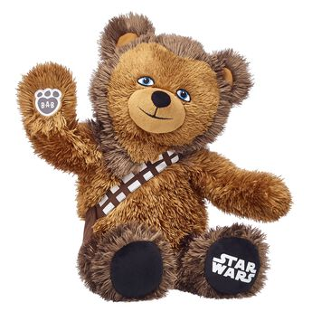 Chewbacca stuffed animal teddy bear