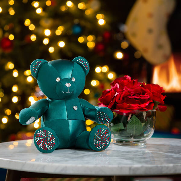 Online Exclusive Build-A-Bear Season's Sparklings Collectible Decorated with Swarovski® crystals - Build-A-Bear Workshop®
