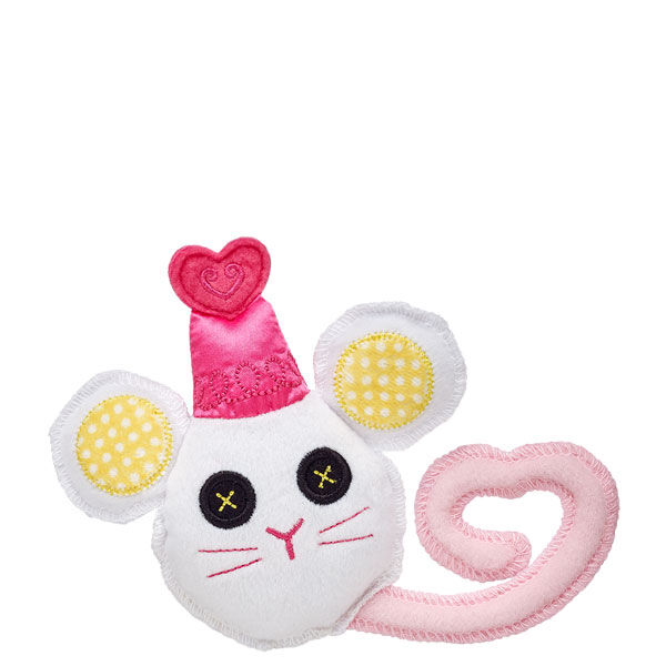 Lalaloopsy™ Mouse always stays close to its best friend, Crumbs Sugar Cookie™. Take this Lalaloopsy Mouse accessory home today! © MGANote: This item cannot be purchased unstuffed, nor can stuffing adjustments be made. A sound or scent cannot be placed inside this pre-stuffed item.