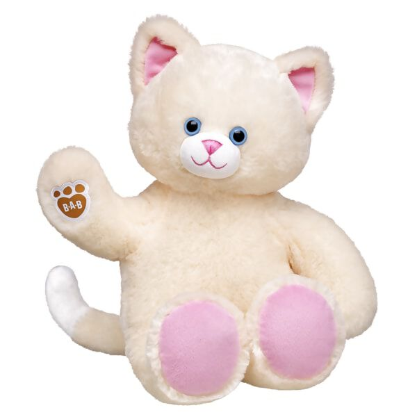 Lemon Cream Kitty is on the prowl for your affection! This classic cat features lemon cream yellow fur, blue eyes, pink ears and paw pads and the B-A-B pawprint on its paw. The web-exclusive kitty can be outfitted with clothing, sounds and accessories to make it one-of-a-kind!