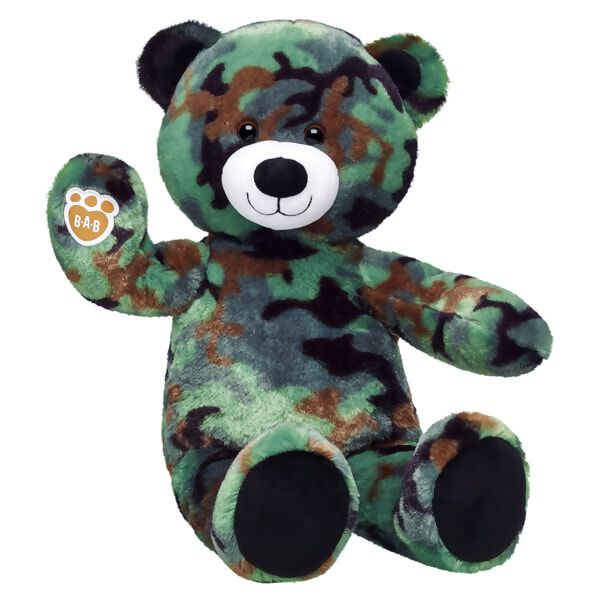 Camo Bear, , hi-res