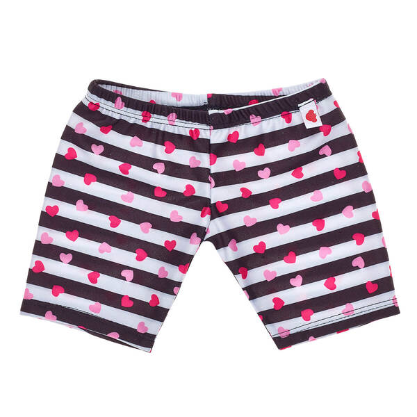 Striped Heart Leggings - Build-A-Bear Workshop®