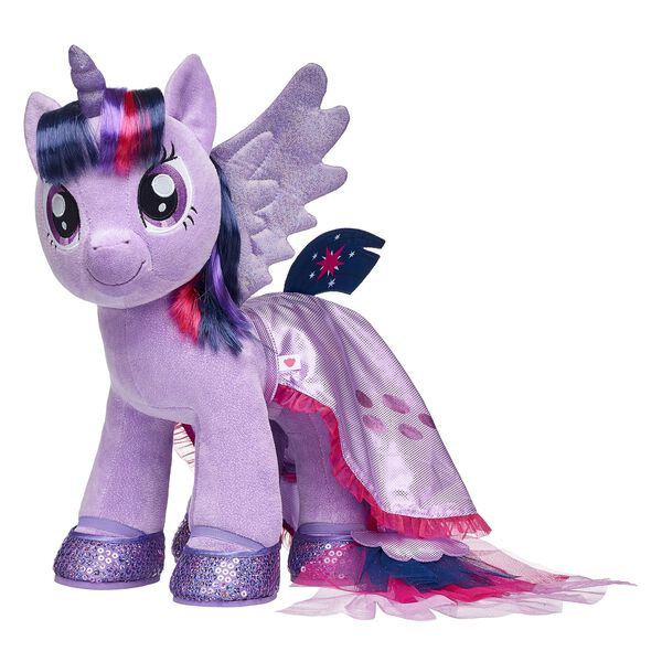 my little pony twilight sparkle sparkly furry friend gift set