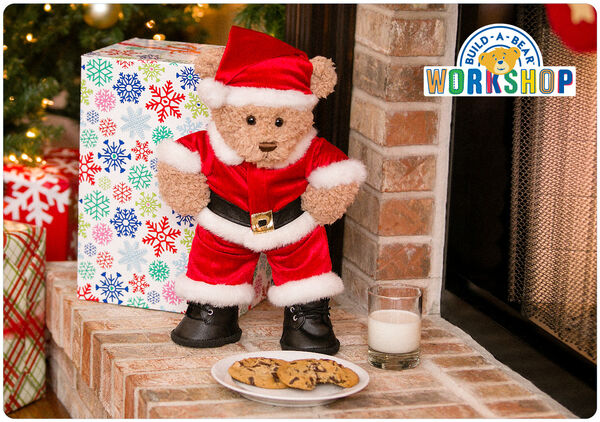 Ho ho ho! Join the festive fun this Christmas with an e-gift card to Build-A-Bear Workshop! It's a perfect and convenient way to stuff their stockings with FUN!