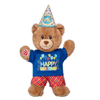 Lil' Cub Brownie Birthday Hat Gift Set, , hi-res