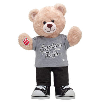 Online Exclusive Happy Hugs Teddy Sending Hugs Gift Set, , hi-res