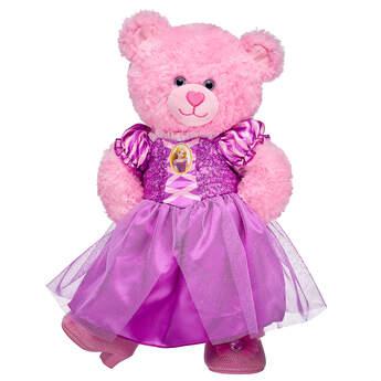 Pink Cuddles Teddy Disney Princess Rapunzel Gift Set, , hi-res