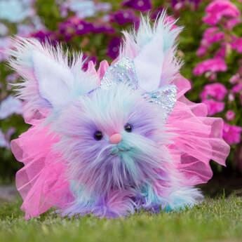 Fuzzy Bunny Gift Set, , hi-res