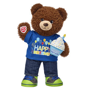 Birthday Treat Bear CeleBEARate Gift Set, , hi-res
