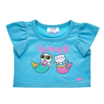 Summer Mermaid T-Shirt - Build-A-Bear Workshop®