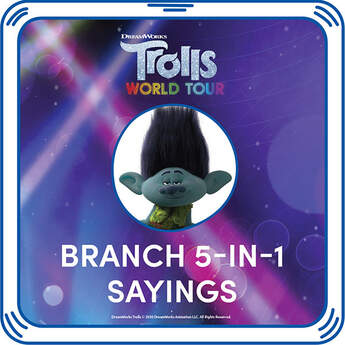 DreamWorks Trolls Branch 5-in-1 Sayings - Build-A-Bear Workshop®