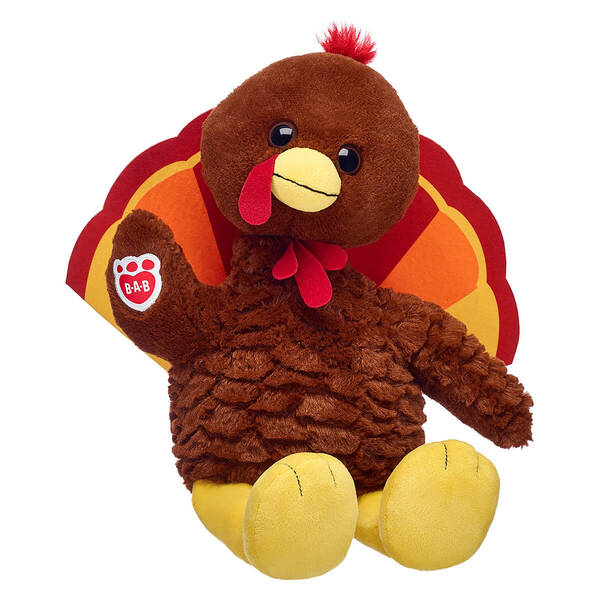 Online Exclusive Great Gobbles Turkey - Build-A-Bear Workshop®