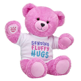 Online Exclusive Fluffy Purple Bear Gift Set, , hi-res