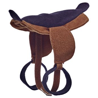 Giddy up on your next adventure together. Includes a saddle with stirrups.