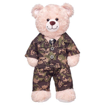 GRN CAMO UNIF NF - Build-A-Bear Workshop®