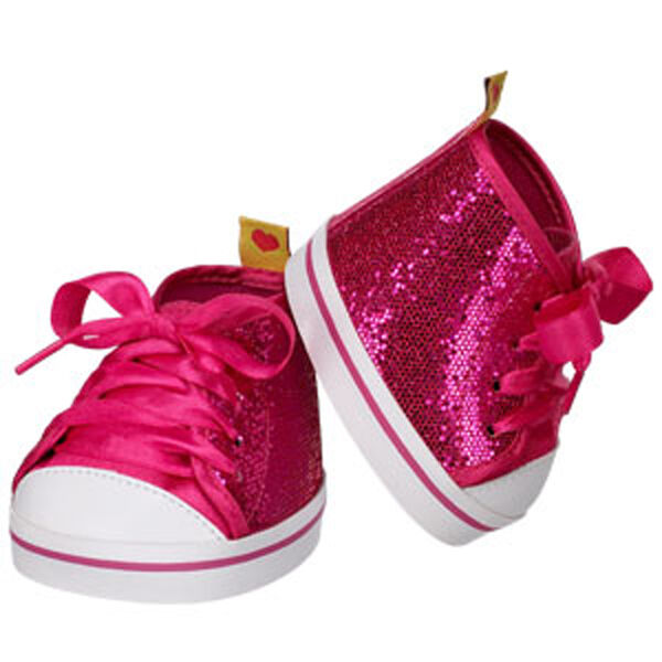 Fuchsia Sequin High-Tops, , hi-res