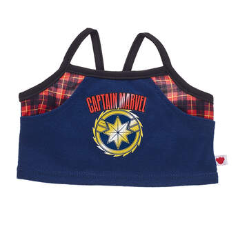 Captain Marvel Tank Top - Build-A-Bear Workshop®
