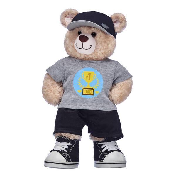 Happy Hugs Teddy #1 Dad Gift Set, , hi-res
