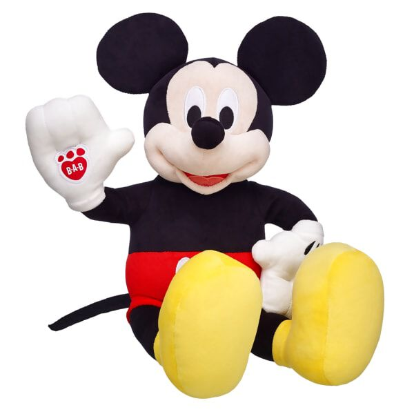 Plush Mickey And Minnie Mouse Gifts Clothing More Build A Bear