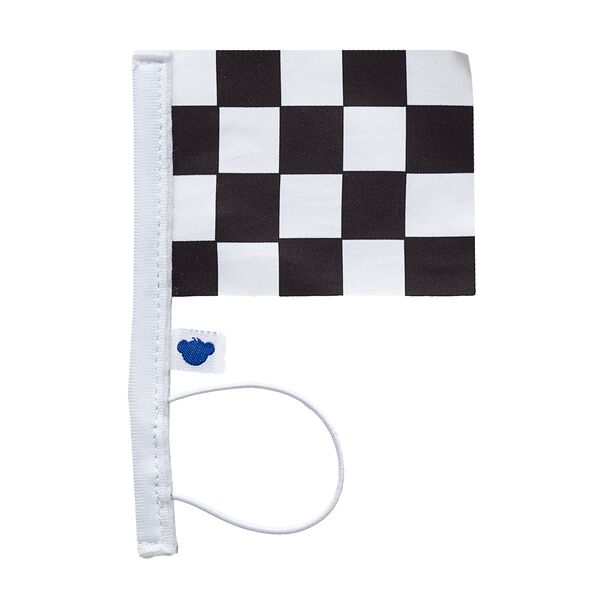 Black and White Chequered Flag, , hi-res