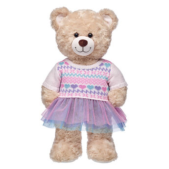 Pink Fair Isle Sweater Dress, , hi-res