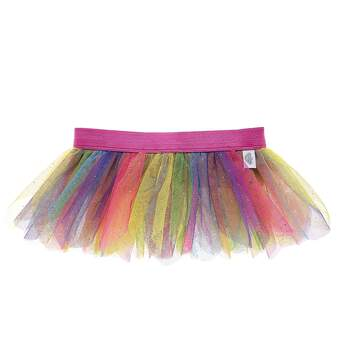 Your furry friend can dance with every color of the rainbow! This sparkly rainbow tutu for stuffed animals has colorful tulle layers and is the perfect size for your furry friend. Personlize a furry friend to make the perfect gift. Shop online or visit a store near you!
