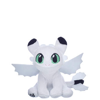 White Nightlight with Green Eyes - Build-A-Bear Workshop®