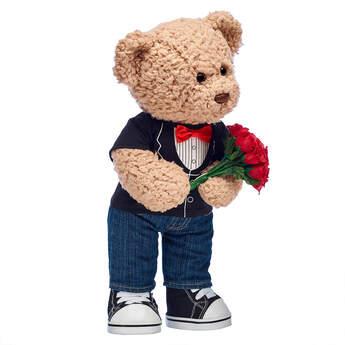 Timeless Teddy Tuxedo T-Shirt Gift Set, , hi-res