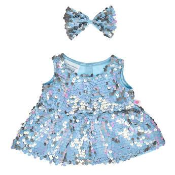 Blue Sequin Dress - Build-A-Bear Workshop®