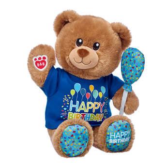 Birthday Treat Bear Balloon Gift Set, , hi-res
