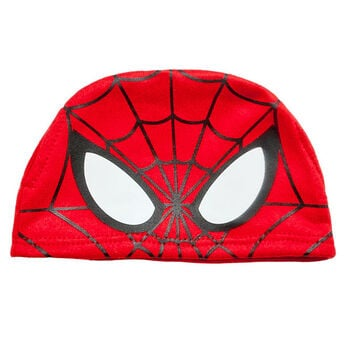 Get the spidey sense! Transform your furry friend into a web-slinging superhero with a teddy bear sized Spiderman Hat!  ™ and  2015 Marvel & Subs.