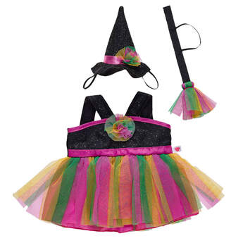 Sparkly Witch Costume 3 pc. - Build-A-Bear Workshop®