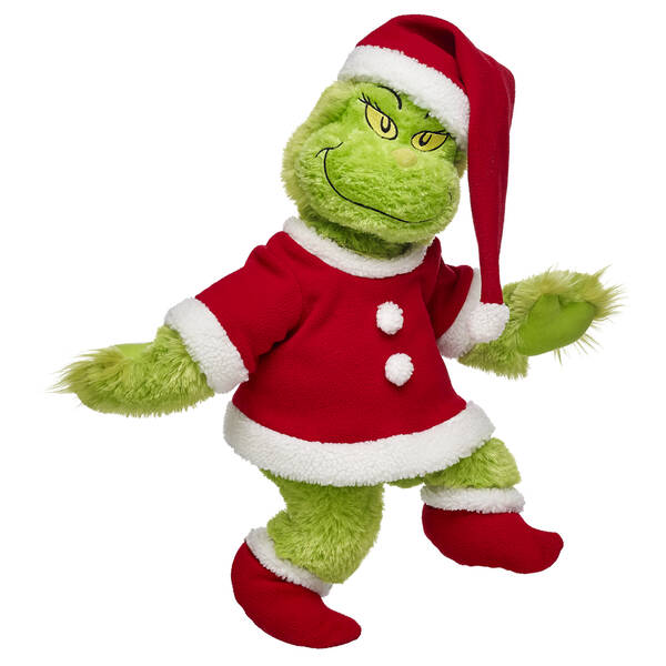 The Grinch Collection is back at Build-a-Bear