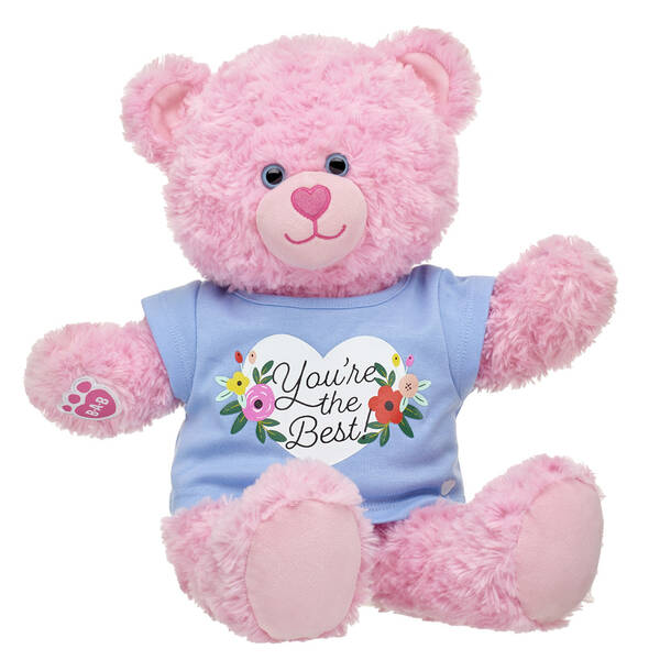 Online Exclusive Pink Cuddles Teddy You're the Best Gift Set, , hi-res