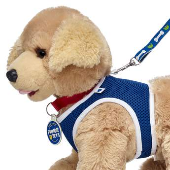 Now you can train and play with your Promise Pets in this pet-sized blue harness! Don't forget to add a leash so you can walk your furry friend! Personlize a furry friend to make the perfect gift. Shop online or visit a store near you!