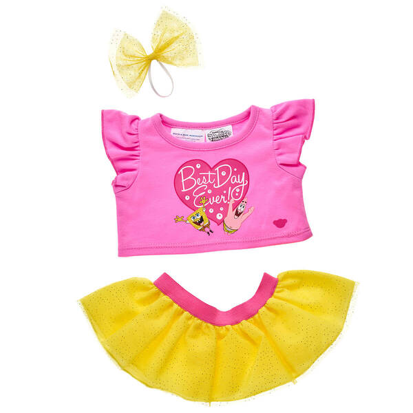 SpongeBob SquarePants Tutu Outfit For Stuffed Animals - Build-A-Bear Workshop®