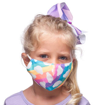 Child-Size Rainbow Bear Face Mask - Build-A-Bear Workshop®