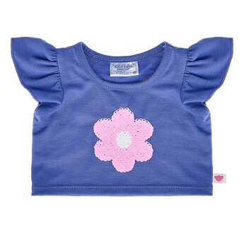 Flip Sequin Flower T-Shirt - Build-A-Bear Workshop®