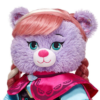 Style your furry friend's hair any way you like with this Disney's Frozen Anna Wig! The teddy bear size wig transforms your furry friend's look, adding fun and flair to their outfit. Give any furry friend hair just like Anna's strawberry blonde mane with a platinum blonde streak. Create a unique gift for your loved one with this teddy bear size Anna Wig. © Disney