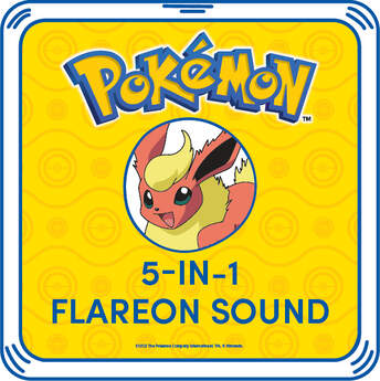 5-in-1 Flareon Sound - Build-A-Bear Workshop®