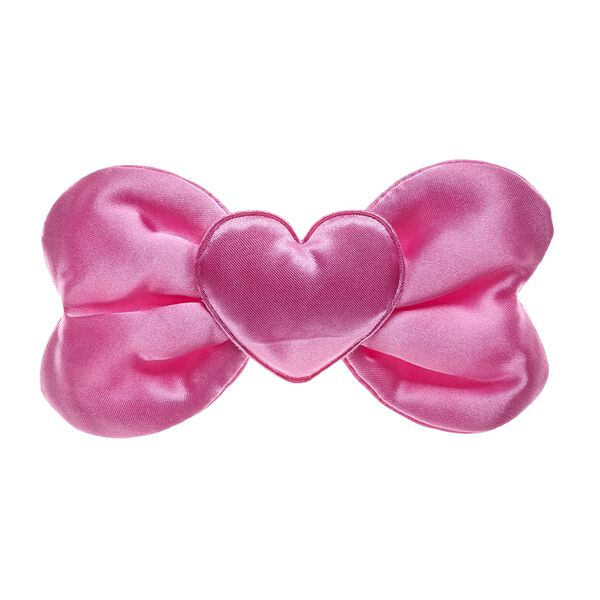 There's a ton of fun to be had in the world of Kabu – you just gotta have a little heart! With a pretty heart right in the center, this bright pink bow for kawaii plush toys is the PAWfect choice! Shop online or in store at Build-A-Bear Workshop!