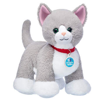 Promise Pets™ Grey Cat - Build-A-Bear Workshop®