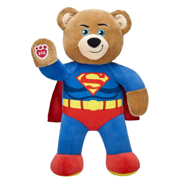 Online Exclusive Superman™ Bear, , hi-res