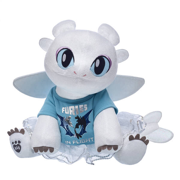 Build A Bear Nightmare Before Christmas Uk.Light Fury Sparkly Gift Set