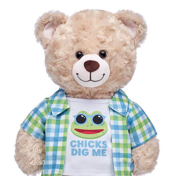 Spring Frog 2-Fer Shirt - Build-A-Bear Workshop®