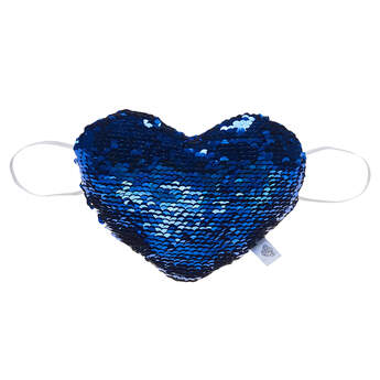 Sequin Stuffed Animal Heart Plush Wrist Accessory - Build-A-Bear Workshop®