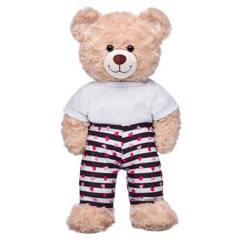 Striped Heart Leggings - Build-A-Bear Workshop®