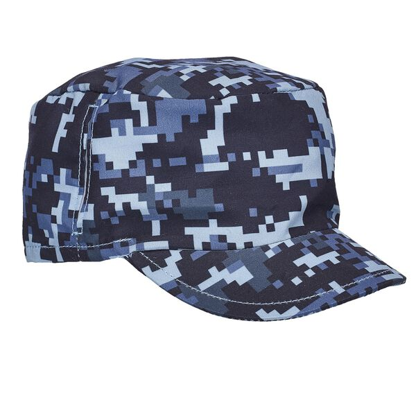 Blue Digital Camo Messenger Hat, , hi-res